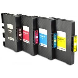 Grossist'Encre Pack de 4 Cartouches compatibles RICOH Pack GC31