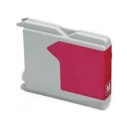 Grossist'Encre Cartouche compatible pour BROTHER LC970 / LC1000 Magenta