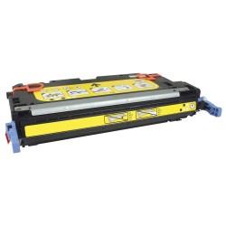 Grossist'Encre Cartouche Toner Laser Jaune Compatible pour HP Q7582A