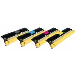 Grossist'Encre Lot de 4 Toners Lasers Compatibles pour KONICA MINOLTA QMS2400 BK/C/M/Y